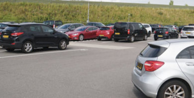 vip parking schiphol 3